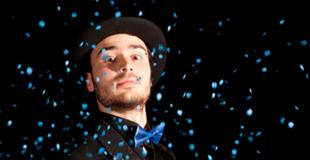Spectacle de magie interactif pour un arbre de Noël (75)