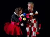 Couple de clowns magiciens pour un arbre de Noël (75)