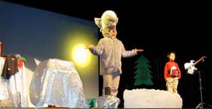 Conte musical sur Noël pour le personnel des hopitaux (74)