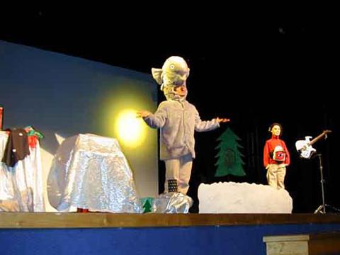 Spectacle musical sur le thème de Noël