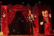 Cirque en salle avec animaux