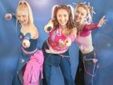 Groupe de chanteuses enfants