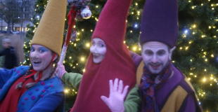 Les lutins de Noël