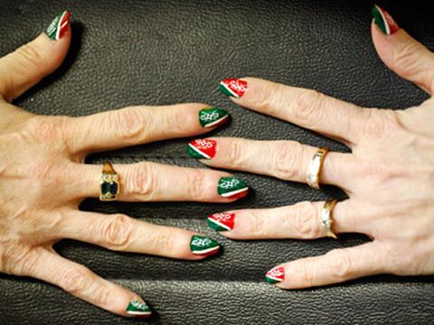 Atelier de d coration des ongles ou nail art fantaisie for Decoration ongle noel