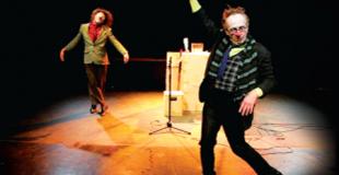 Duo de clowns en musique
