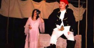 Spectacle de pirates avec musique, poésie et magie